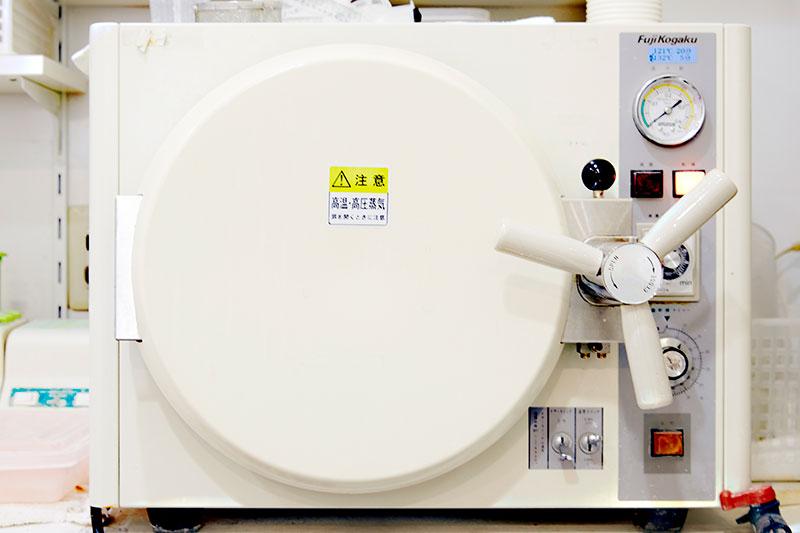 高圧蒸気滅菌器 診療器具