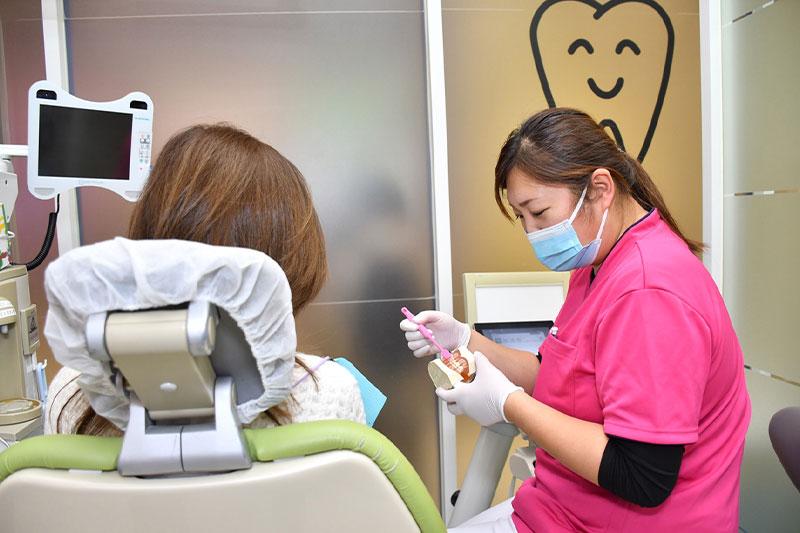 ブラッシング指導 歯磨き